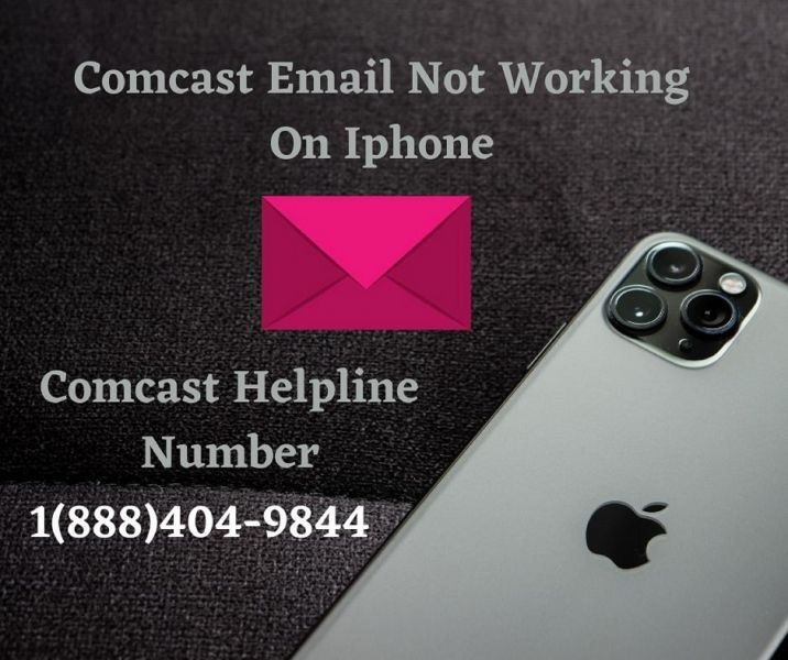 Comcast Email Not Working On Iphone 1(888)404-9844 Comcast Helpline Number