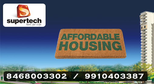 Supertech Affordable Housing Sector 79 @ 8468003302