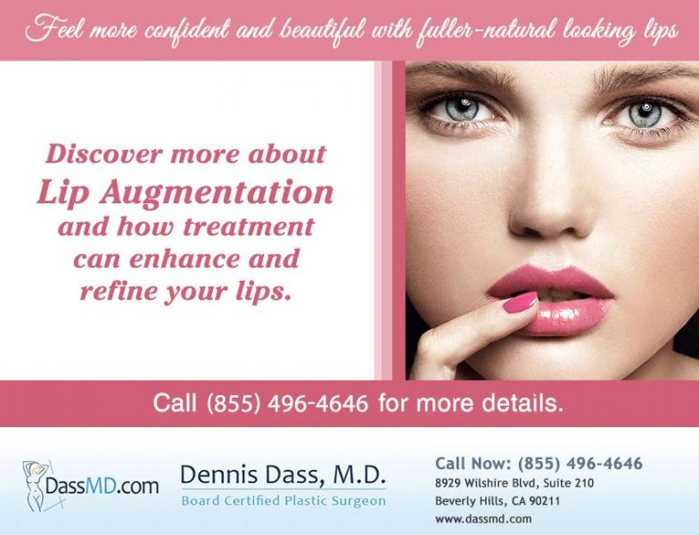 Lip Augmentation in Beverly Hills CA