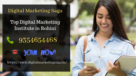 Digital Marketing Institute in Rohini by Digital Marketing Saga