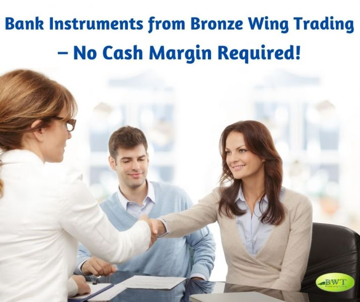 Bank Instruments from Bronze Wing Trading – No Cash Margin Required!