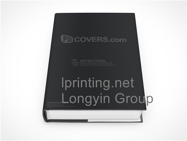 China Hardcoer Book Printing Service,Printing in China,Square Back Hardcover