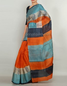 Online shopping for multicolor saris by unnatisilks