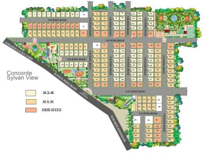 Concorde Sylvan View Independent Designer Villas @ Electronic city- 2 near Infosys, BMRDA Approved