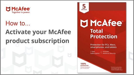 Mcafee.com/activate - Enter your code - Activate McAfee Product