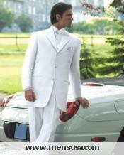 White Tuxedo Jacket For Elegant Look