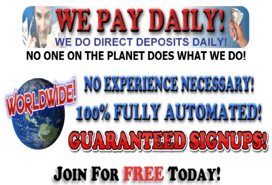 Free Automated Online Money Making Website