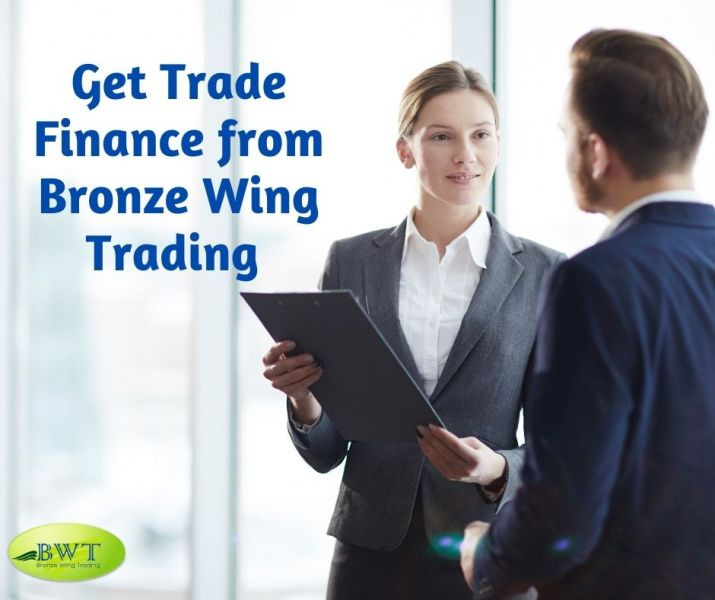 Get Trade Finance from Bronze Wing Trading