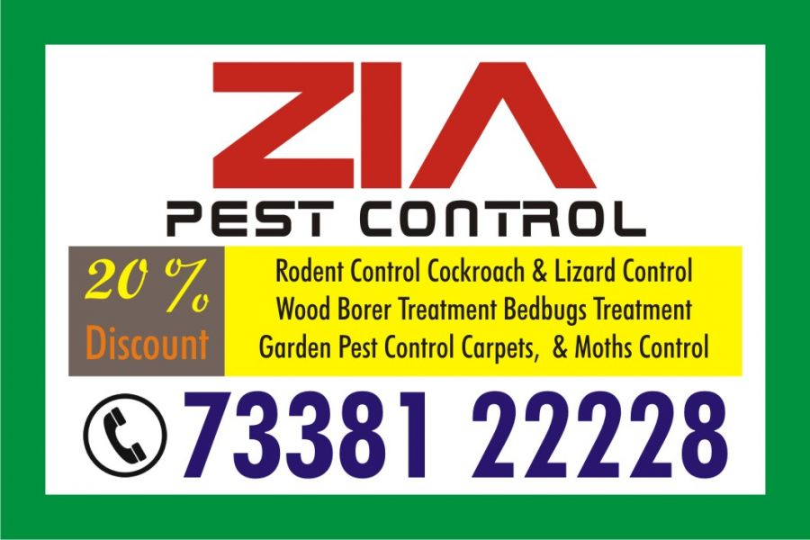 Zia Pest Control  Flat 50% Discount | 73381 22228 | Cockroach | Bed Bugs Mosquito Treatment