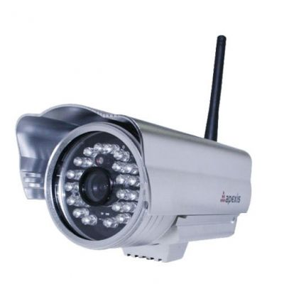 Outdoor IP Camera for Security Solution with Free DDNS and Control Alarm Record with 20m IR