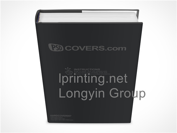 Leather case hardcover book printing,High-grade hardcover book printing