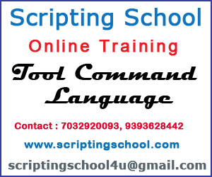 TCL Script Online Training Institute in Hyderabad
