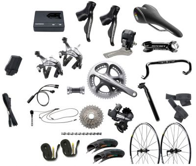 Shimano Dura-Ace Di2 10 Speed Build Kit.........1,300 usd