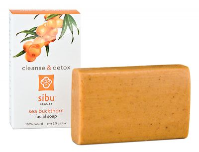 Sibu Beauty - sea buckthorn facial soap - The unique soap for an enticing skin