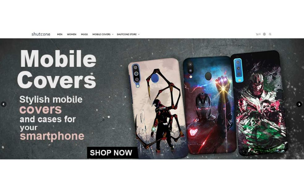 Buy Superhero Mobile Covers for Samsung A20 at Rs.298 - Shutcone