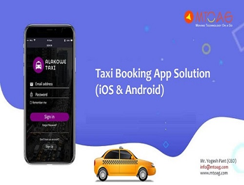 Taxi app solution | taxi booking app
