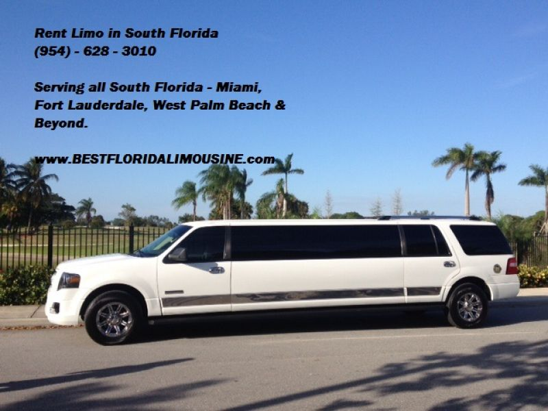 Limo service in south florida