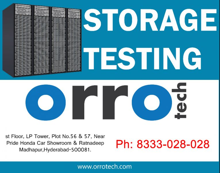 Storage Testing course in Hyderabad.