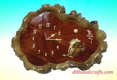 Nice and unique wooden clocks