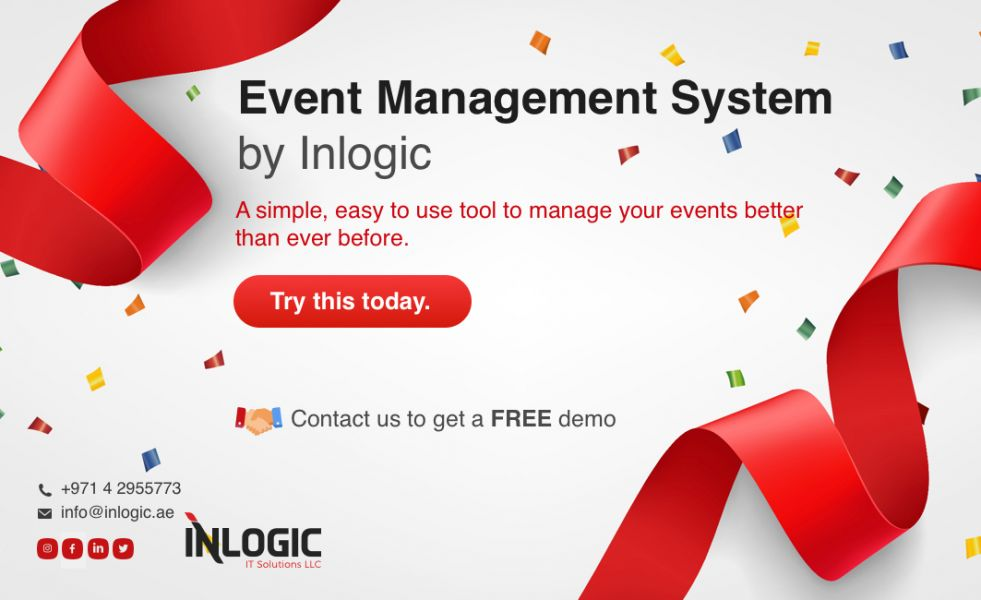Event Management System by INLOGIC