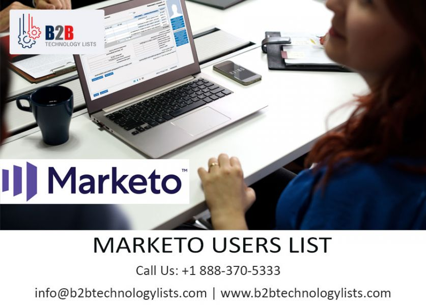 Buy Latest 2019 Marketo Users List | B2B Technology List