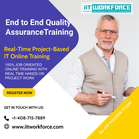 End to End Quality Assurance Training