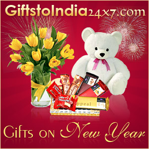 Make New Year special with gifts