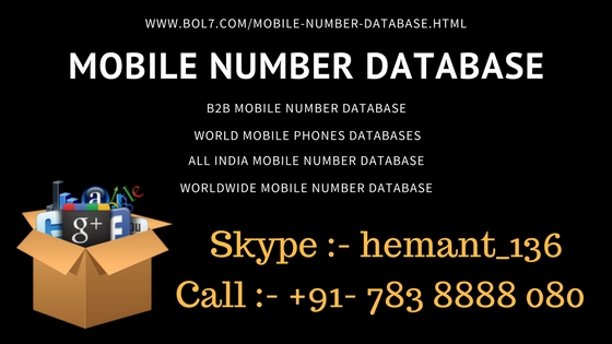 International Mobile Number Database