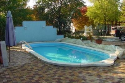 Hungary Tiszakecske furnished luxury villa with swimming pool