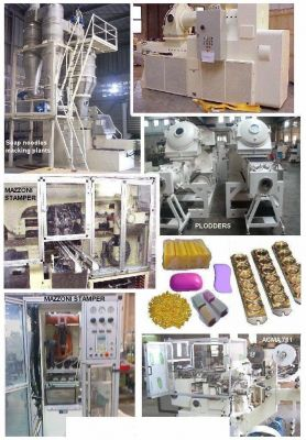 USED SOAP MAKING MACHINES