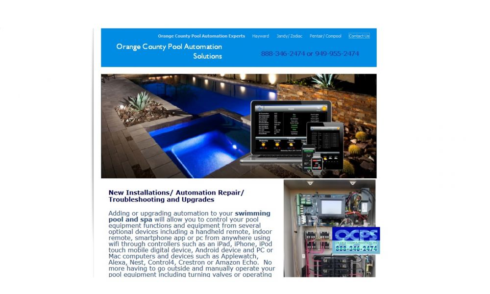Orange County Pool Automation