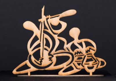 Salma Arastu - Indian Muslim Artist | Arabic Calligraphy | spiritual mixed media paintings |