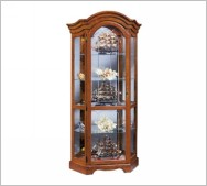 Oak China Cabinet | Curio Cabinet Finishes | Oak Curio Cabinet Finishes
