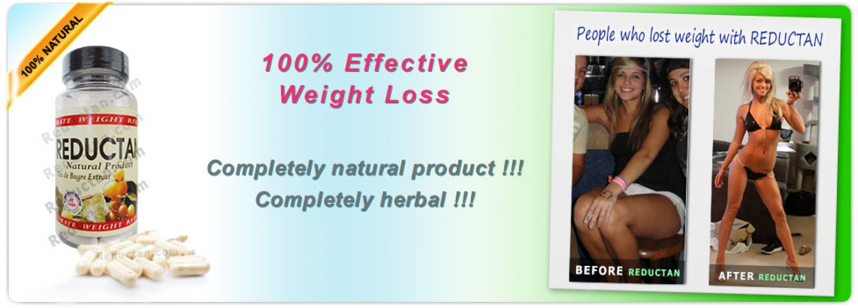 Lose weight effectively with unique product - Reductan