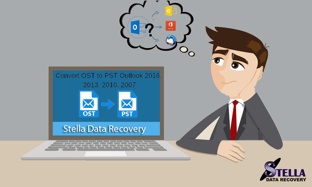 Convert EDB to PST with Stella Exchange EDB to PST converter