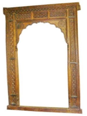 India Archway Carved Jharokha Frame- Rare Antique Door Frame $4,555.00