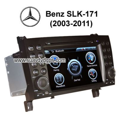 Benz Slk R171 Auto DVD Player GPS Navigation TV IPOD CAV-SLK171