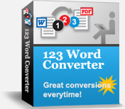 Effective word to PDF conversions.