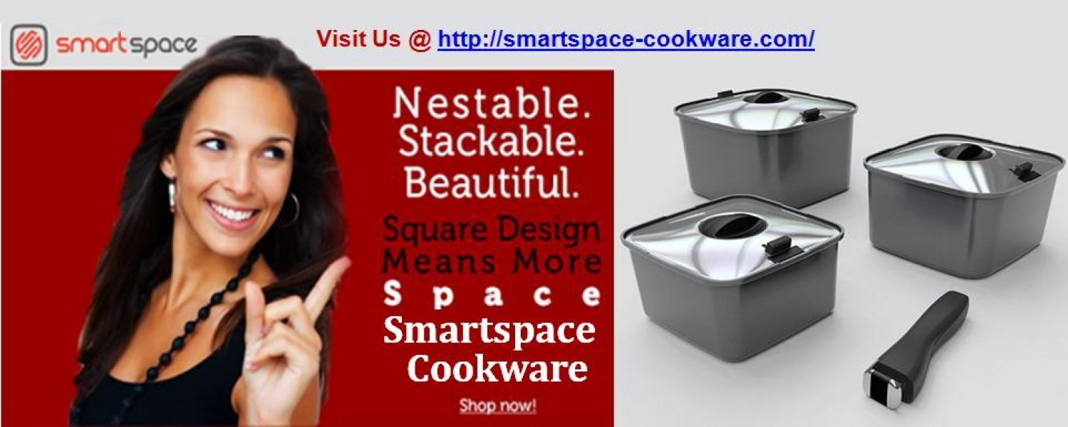 Space Saving Cookware | SmartSpace Cookware