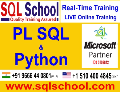 Python Real time Classroom Training @ SQL School