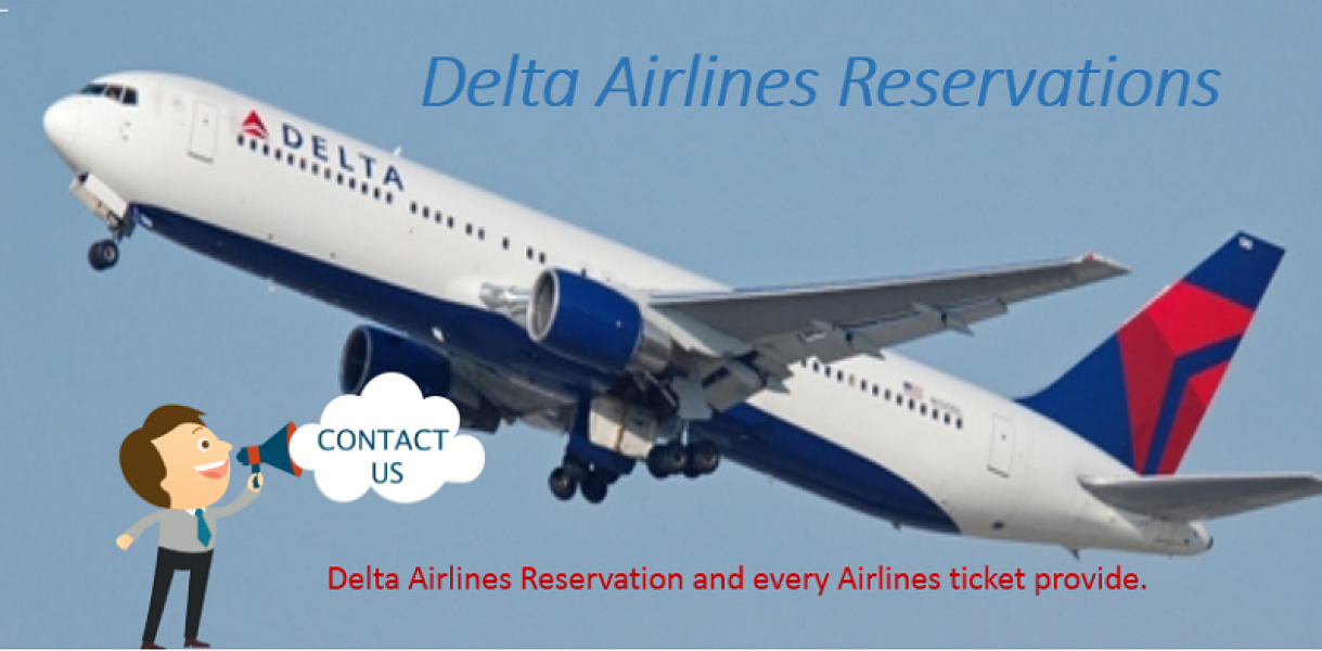 Find Cheap Flights By Delta Airlines Reservations