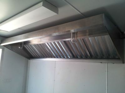 Concession Trailer Exhaust Hood