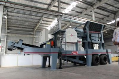 Wheel Mounted Crushing Plants