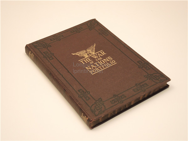 Leather Case Hardcover Book Printing,Hardback Book Printing China