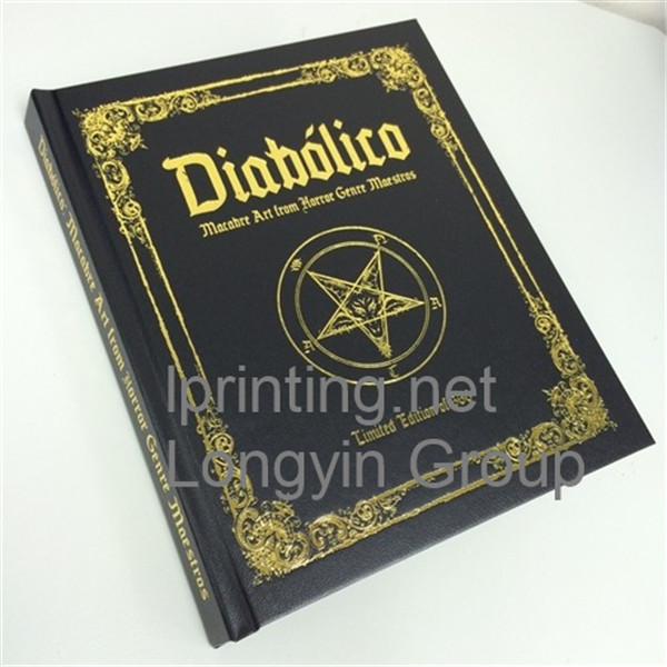 Hot Stamping Hardcover Book Printing in China,Hardcover Book
